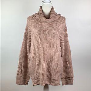 Mcupper- Women's Turtle Neck Sweater